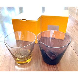 スガハラ(Sghr)の【新品2セット】スガハラ ペコグラス ロックグラス タンブラー SGHR(グラス/カップ)