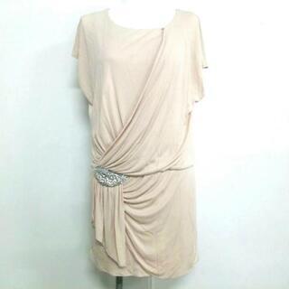 グレースコンチネンタル(GRACE CONTINENTAL)のダイアグラム ドレス サイズ36 S ビジュー(その他ドレス)