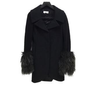 ルシェルブルー(LE CIEL BLEU)のルシェルブルー コート サイズ40 M美品  黒(その他)