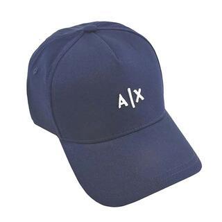 アルマーニエクスチェンジ(ARMANI EXCHANGE)のアルマーニ エクスチェンジ A|X刺繍ロゴ キャップ 帽子 NAVY(キャップ)