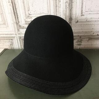 トゥモローランド(TOMORROWLAND)のイタリア製 BETTINA  ベッティーナ 帽子 USED(ハット)
