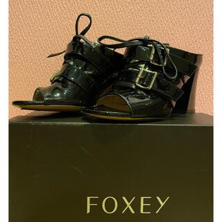 フォクシー(FOXEY)の美品◇ADEAM サンダル 36(23センチ)(サンダル)