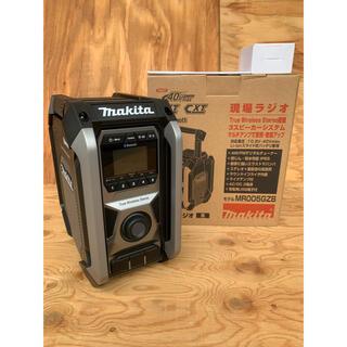 マキタ(Makita)の新製品!マキタ makita 充電式ラジオ MR005GZB 黒(ラジオ)