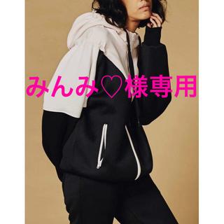 ダブルスタンダードクロージング(DOUBLE STANDARD CLOTHING)のみんみ♡様専用❣️ダブスタ❣️ESSENTIALエアロ ダンボールニットパーカー(パーカー)