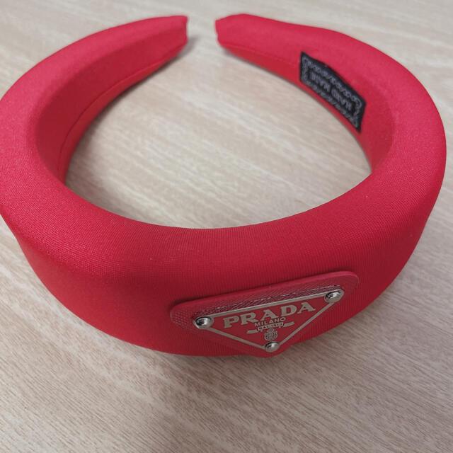 PRADA(プラダ)のプラダ カチューシャ レディースのヘアアクセサリー(カチューシャ)の商品写真