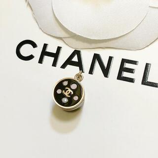 シャネル(CHANEL)の正規品 シャネル ペンダント ココマーク ストーン 金 ブラック 石 ネックレス(ネックレス)