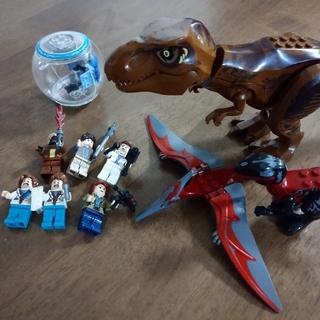 ブロック 恐竜 人形 乗り物 セット(積み木/ブロック)