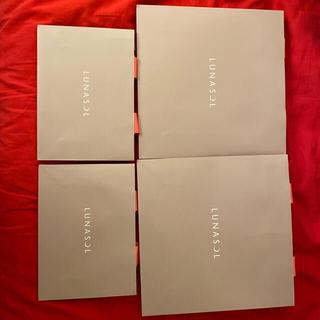 ルナソル(LUNASOL)のルナソル 紙袋&ビニール袋 計6枚(ショップ袋)