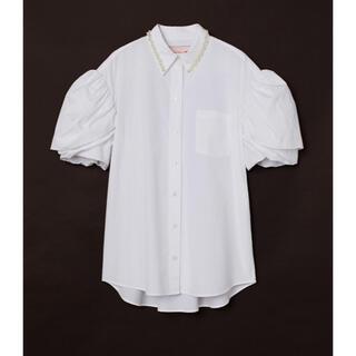 エイチアンドエム(H&M)のSimone Rocha H&M オーバーサイズコットンシャツ(シャツ/ブラウス(長袖/七分))
