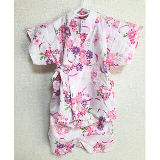 ニシマツヤ(西松屋)の甚平 90(甚平/浴衣)