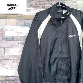 リーボック(Reebok)の希少 90's Reebok ナイロンジャケット XL ゆるダボ(ナイロンジャケット)