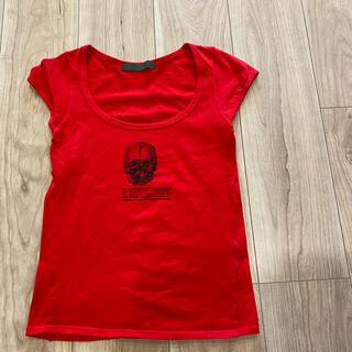 アゴストショップ(AGOSTO SHOP)の一度着用 アゴスト美ラインTシャツ(Tシャツ(半袖/袖なし))