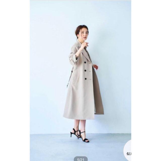 BOSCH(ボッシュ)のボッシュ 《B ability》ロングトレンチコート レディースのジャケット/アウター(トレンチコート)の商品写真