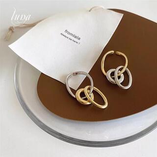 ドゥーズィエムクラス(DEUXIEME CLASSE)のdesign accessory ★ear cuff gold&silver(イヤーカフ)