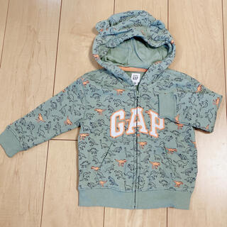 babyGAP - babyGAP  くま耳  恐竜  パーカー☆