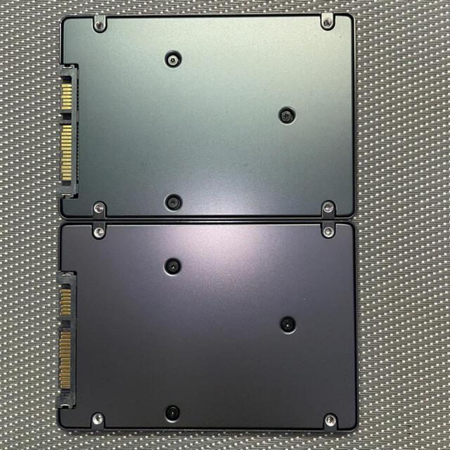 SAMSUNG(サムスン)のSamsung製SSD 2.5インチSATA 128GB 二枚セット スマホ/家電/カメラのPC/タブレット(PCパーツ)の商品写真
