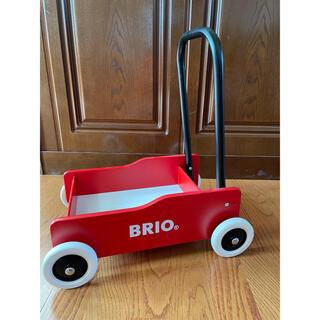 ブリオ(BRIO)のBRIO 手押し車 レッド限定カラー(手押し車/カタカタ)