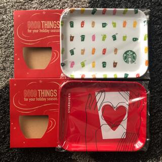 Starbucks Coffee - スタバ ノベルティトレー2個