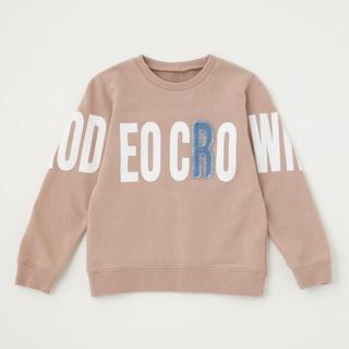 ロデオクラウンズワイドボウル(RODEO CROWNS WIDE BOWL)の☆RCWB キッズポイントデニムアップリケスウェット(Tシャツ/カットソー)