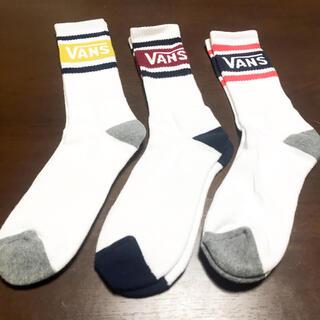 ヴァンズ(VANS)の3足 VANS ヴァンズ バンズ ラインソックス 靴下(ソックス)