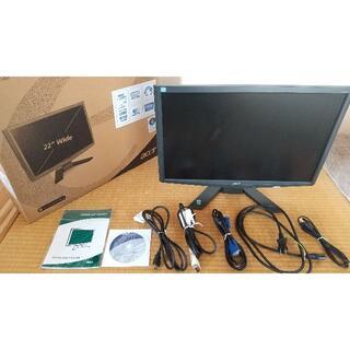 エイサー(Acer)のacer PCディスプレイ X223W bdua(ディスプレイ)