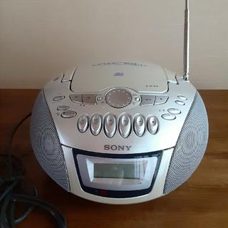 SONY - SONY ソニー☆CDラジカセ CFD-E75T☆カセットコーダー