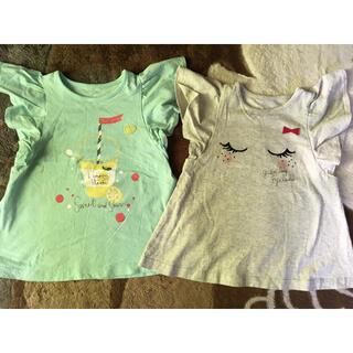 ベルメゾン(ベルメゾン)の2枚組ベルメゾン千趣会女の子半袖Tシャツカットソー(Tシャツ/カットソー)