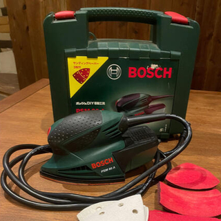 ボッシュ(BOSCH)のBOSCH ボッシュ  DIY電動工具 吸じんマルチサンダー 80A(その他)