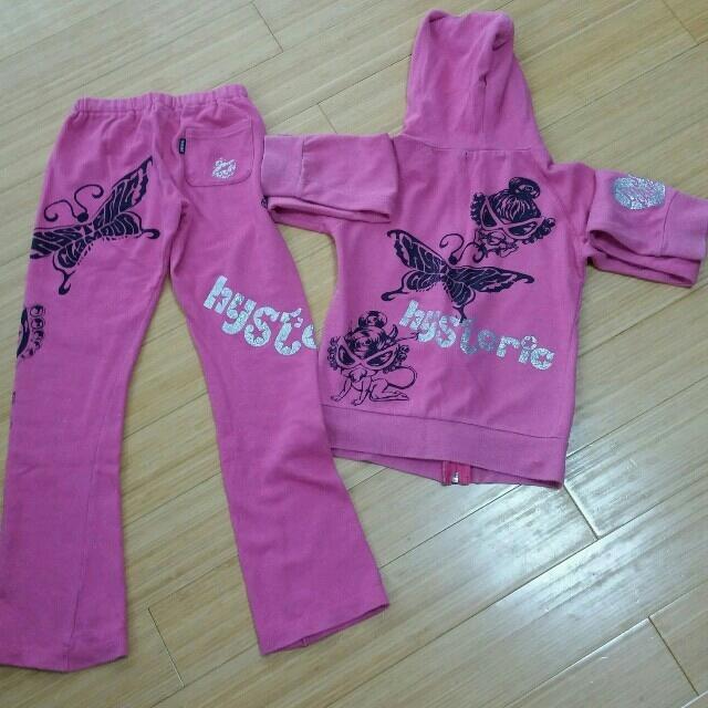 HYSTERIC MINI(ヒステリックミニ)のヒステリックミニのスウェット キッズ/ベビー/マタニティのキッズ服 女の子用(90cm~)(その他)の商品写真