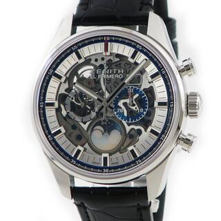 ゼニス(ZENITH)のゼニス  クロノマスター プリメロ サン&ムーン 03.2530.404(腕時計(アナログ))