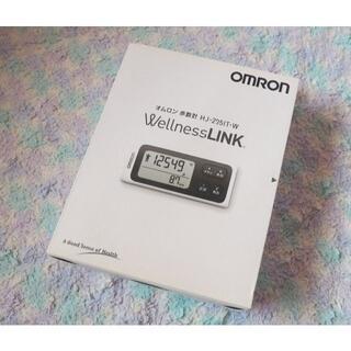 OMRON - 【未使用】OMRON オムロン 歩数計 スマートリンク【箱あり】