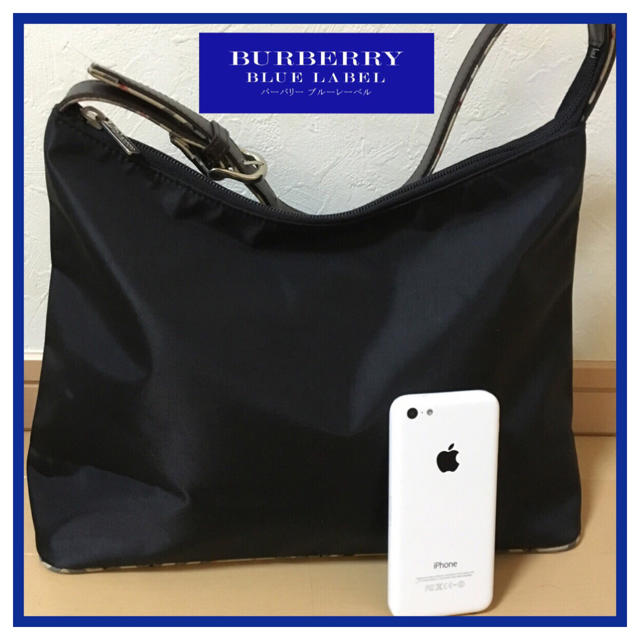 BURBERRY(バーバリー)の美品❣️バーバリーブルーレーベル ショルダーバッグ  レディースのバッグ(ショルダーバッグ)の商品写真