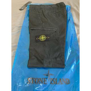 ストーンアイランド(STONE ISLAND)のStone Island カーゴパンツ ブラック(ワークパンツ/カーゴパンツ)