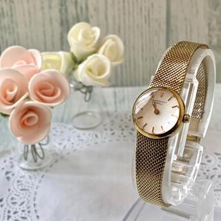 MARGARET HOWELL - 【電池交換済み】MARGARET HOWELL 腕時計 イエローゴールド