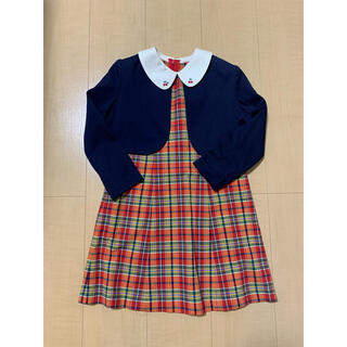 ミキハウス(mikihouse)のMIKI HOUSE フォーマル 入園式、卒園式(ドレス/フォーマル)