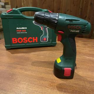 ボッシュ(BOSCH)のBOSCH ボッシュ DIY電動工具 バッテリードライバードリル PSR960(その他)