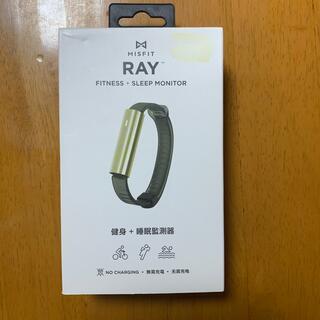 【新品未開封】MISFIT RAY ゴールドブラック(トレーニング用品)