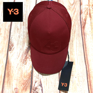 Y-3 - 新品・未使用【Y-3】TRUCKER CAP ロゴ入り メッシュキャップ!!