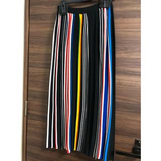 エンフォルド(ENFOLD)の新品タグ付き ENFOLD スカート 36サイズ(ロングスカート)