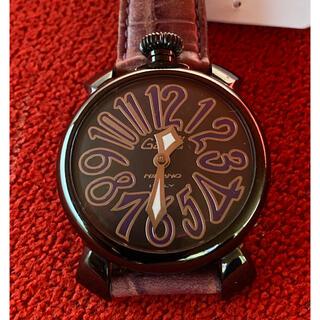 ガガミラノ(GaGa MILANO)のGAGA MILANO マヌアーレ クオーツ 40mm 2020年電池交換済み(腕時計)