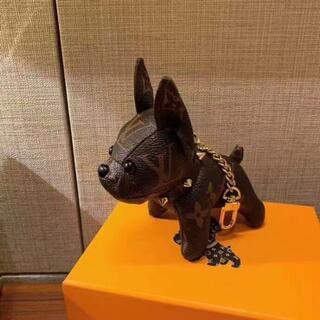 LOUIS VUITTON - 大人気  ルイヴィトン キーホルダー  犬