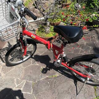 セサミストリート(SESAME STREET)のセサミストリート エルモ 自転車 赤(車体)