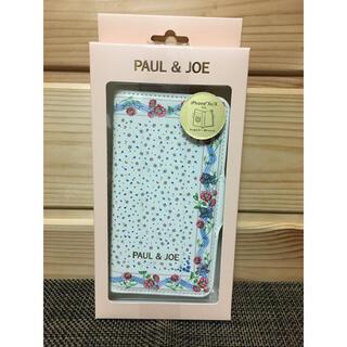 ポールアンドジョー(PAUL & JOE)の【新品、未開封】手帳型 ポール&ジョー スカーフ・モチーフ(iPhoneケース)
