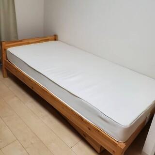 ムジルシリョウヒン(MUJI (無印良品))の無印良品 マットレス(シングル)(シングルベッド)