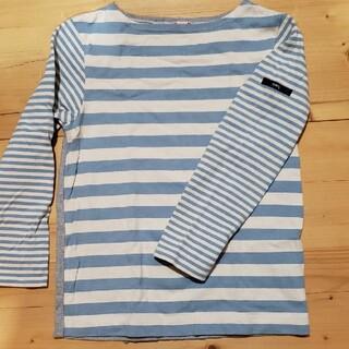 シップスキッズ(SHIPS KIDS)のSHIPS ボートネック 長袖シャツ(Tシャツ/カットソー)
