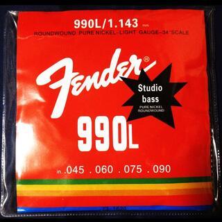 フェンダー(Fender)の送料無料★Fender★激安エレキベース弦★1~4弦セット★ライトゲージ(弦)