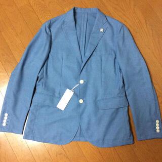 コムサイズム(COMME CA ISM)のテーラードジャケット  COMME CA ISM 新品未使用  XL ブルー(テーラードジャケット)