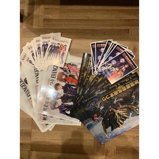 コウダンシャ(講談社)のエヴァンゲリオン postcard  モンスターハンター×4セット(印刷物)
