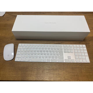 アップル(Apple)のApple Magic KeyBoard 10 KEY Magic Mouse2(PC周辺機器)