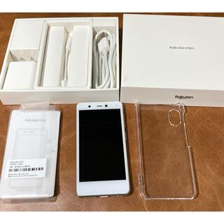 ラクテン(Rakuten)のmikken7様専用 楽天ミニ rakuten mini 付属品あり (スマートフォン本体)